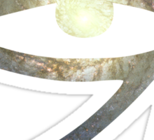 Illuminati Eye: Whirlpool Galaxy   New Illuminati Sticker