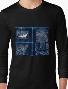 Civil War Maps 1909 War maps and diagrams 02 Inverted Long Sleeve T-Shirt