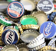 Bottle cap collection by Jenna Mazing