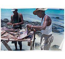 Fresh fish, Cap Malheureuex Poster