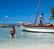 Cap Malheureuex, Mauritius by Maria  Varlet