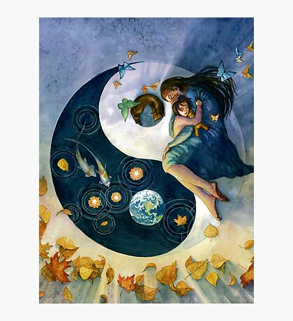 Earth in the Balance Photographic Print