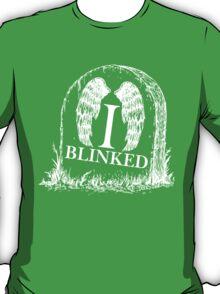 Doctor Who I Blinked T-Shirt