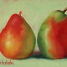 Pear Pair by Margaret Stockdale