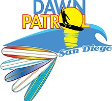 Dawn Patrol San Diego by Waves