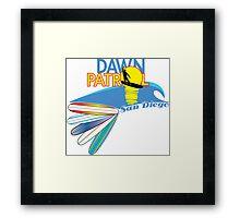 Dawn Patrol San Diego Framed Print