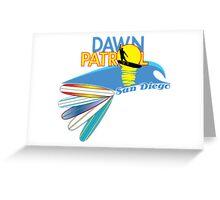 Dawn Patrol San Diego Greeting Card