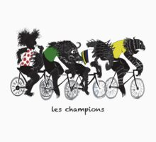 The TDF Four  by BEASTSonBIKES