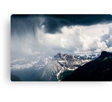 Green Storm Canvas Print