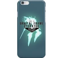 Orbital Frame Operator iPhone Case/Skin