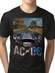 Highway To Heaven by AC T-shirt Design Tri-blend T-Shirt