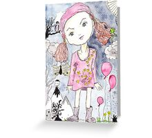 Lucy in the sky Greeting Card