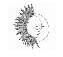 Sun and moon by Megollivia