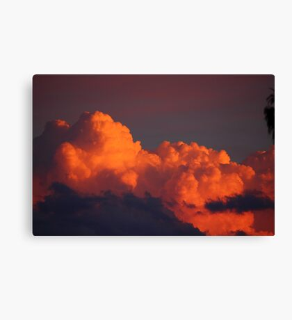 Cloudscape sunset Canvas Print