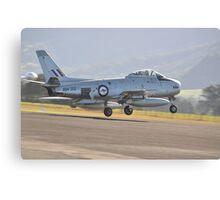 Sabre Landing, Albion Park Airshow, Australia 2014 Canvas Print