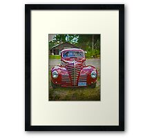 Streetrod Hear Me Roar Framed Print