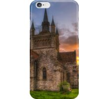 St Mildreds Sunset iPhone Case/Skin