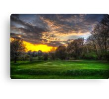 Masters Sunset Canvas Print