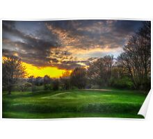 Masters Sunset Poster