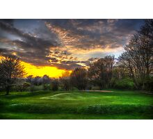 Masters Sunset Photographic Print