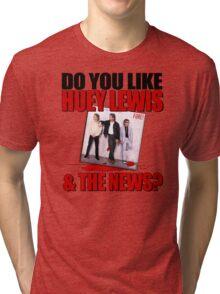 The News. Tri-blend T-Shirt