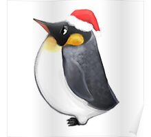 Louie the Christmas Penguin Poster