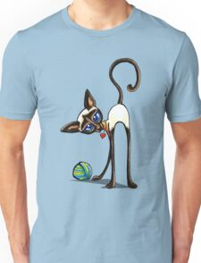 Simaese Cat | Yarn Thief Unisex T-Shirt