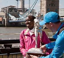 The Elite winner of the London Marathon 2014 Edna Kiplagat Kenya by Keith Larby