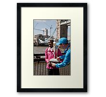 The Elite winner of the London Marathon 2014 Edna Kiplagat Kenya Framed Print