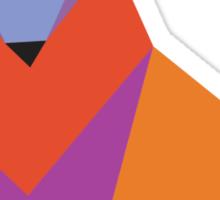 Origami Fox Sticker