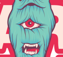 Beardy Sticker