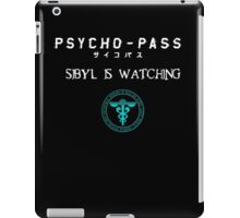 Sibyl's watch dogs iPad Case/Skin
