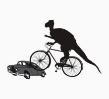 Bike Cycling Bicycle Dinosaur by SportsT-Shirts