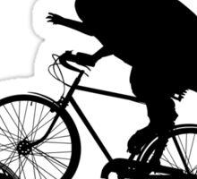 Bike Cycling Bicycle Dinosaur Sticker