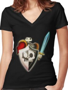 Sir Fortesque (MediEvil) Women's Fitted V-Neck T-Shirt