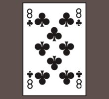 8 of Clubs by Rjcham