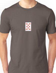 8 of Diamonds Unisex T-Shirt