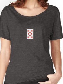8 of hearts Women's Relaxed Fit T-Shirt