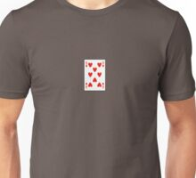 8 of hearts Unisex T-Shirt