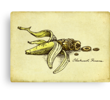 Clockwork Banana Canvas Print