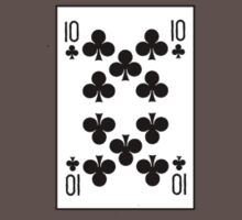10 of clubs by Rjcham