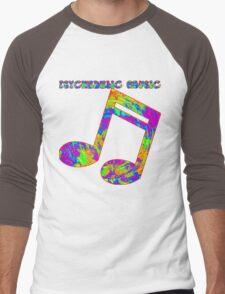 Psychedelic Rock 4 Men's Baseball ¾ T-Shirt