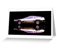 The Delorean Greeting Card
