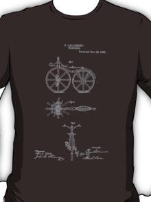 Bike Lallement Velocipede 1866 T-Shirt
