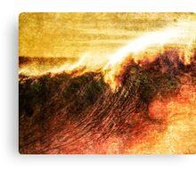 Wavey Breaky Canvas Print