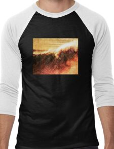 Wavey Breaky Men's Baseball ¾ T-Shirt