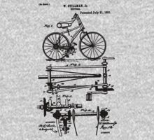 Bicycle Chainless Drive Bicycle 1891 Stillman by SportsT-Shirts