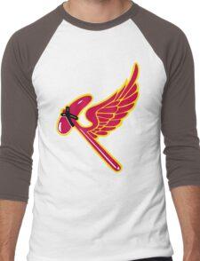 38th Fighter Squadron Insignia Men's Baseball ¾ T-Shirt