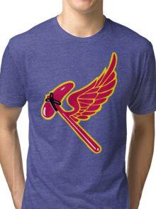 38th Fighter Squadron Insignia Tri-blend T-Shirt