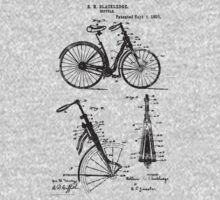 Bike Bicycle Front Suspension Bike 1890 Blackledge by SportsT-Shirts